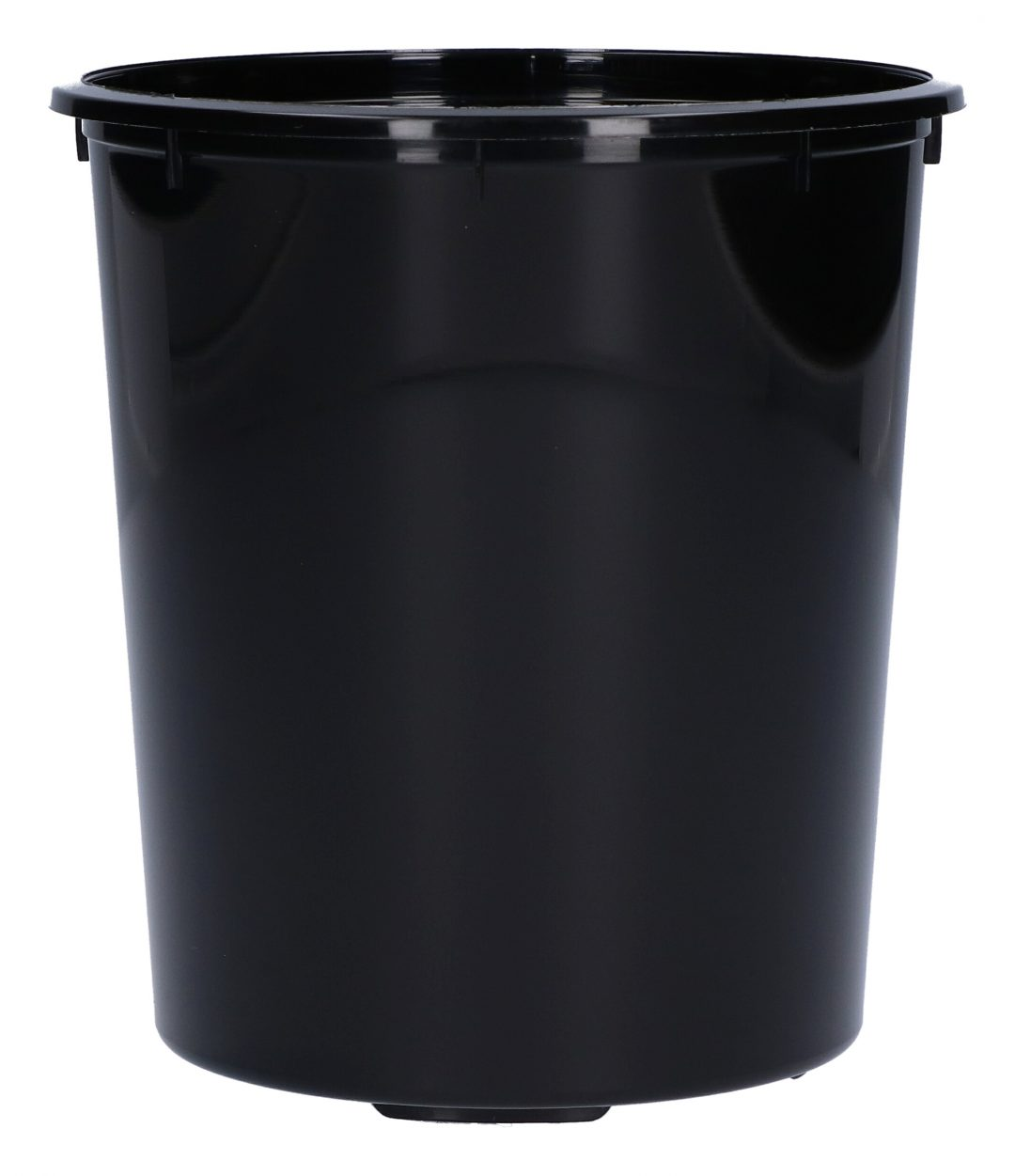 Black mixing cups
