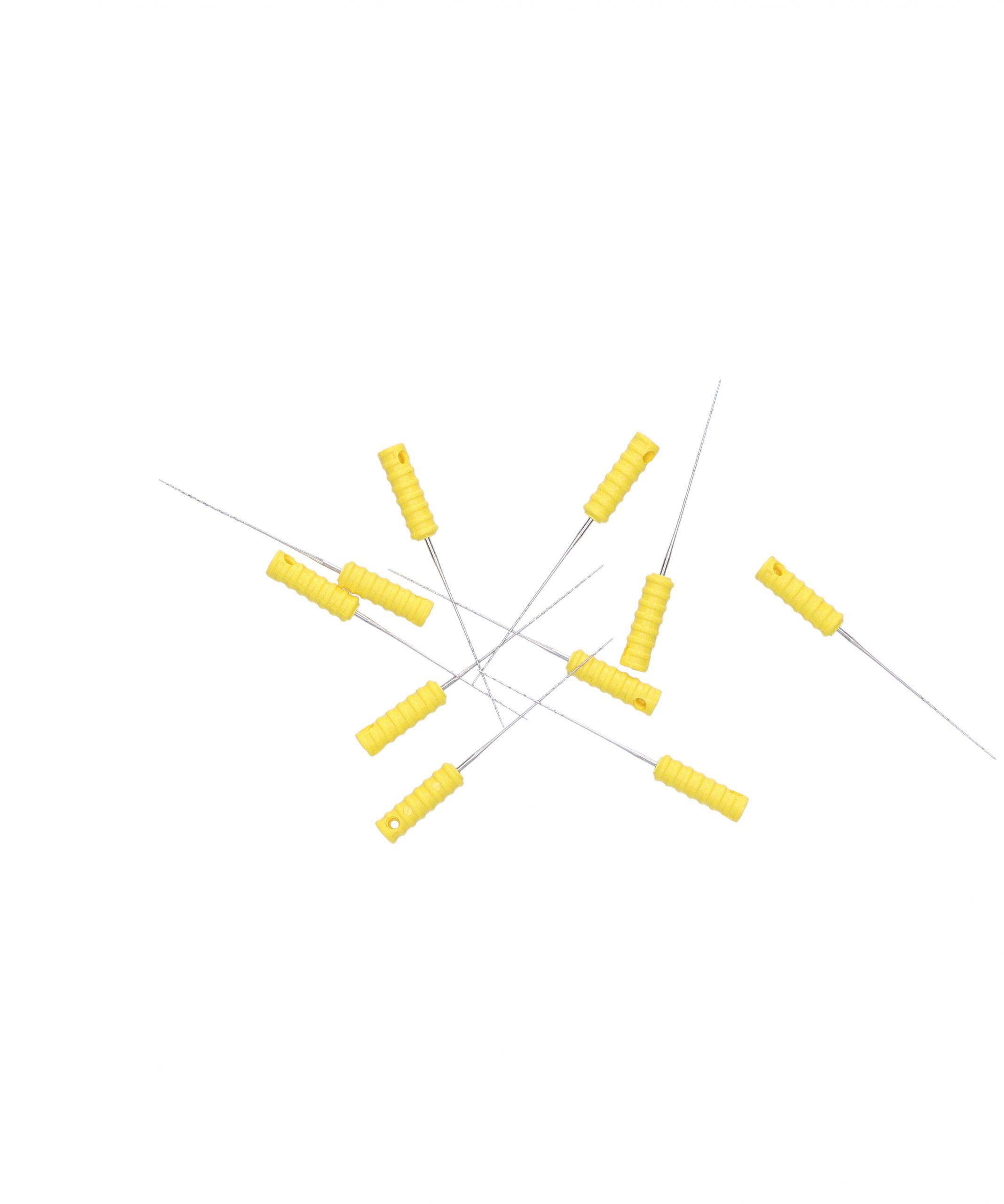Cleaning needle set
