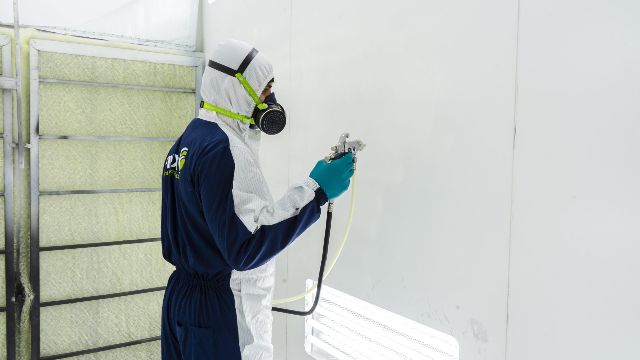 Peelable Spray Booth Protect