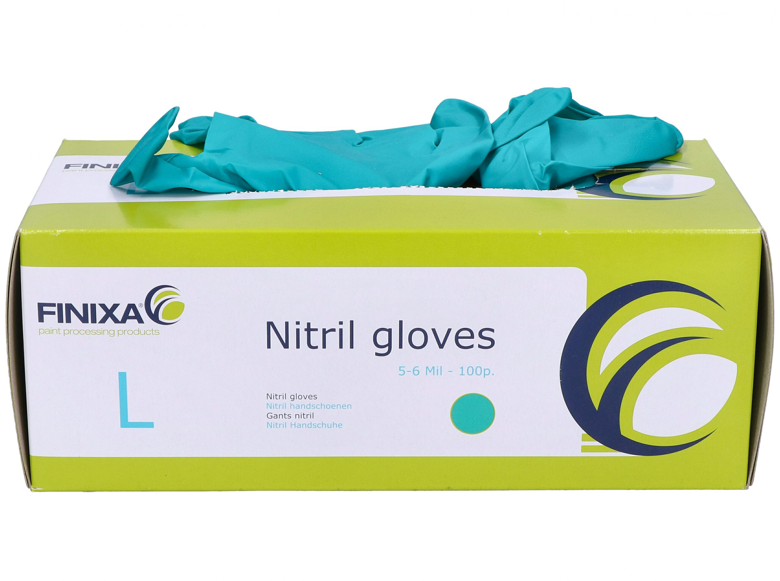 Green Nitrile Disposable Gloves