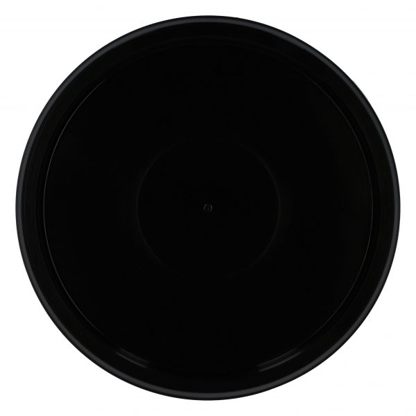 Black lids for mixing cups