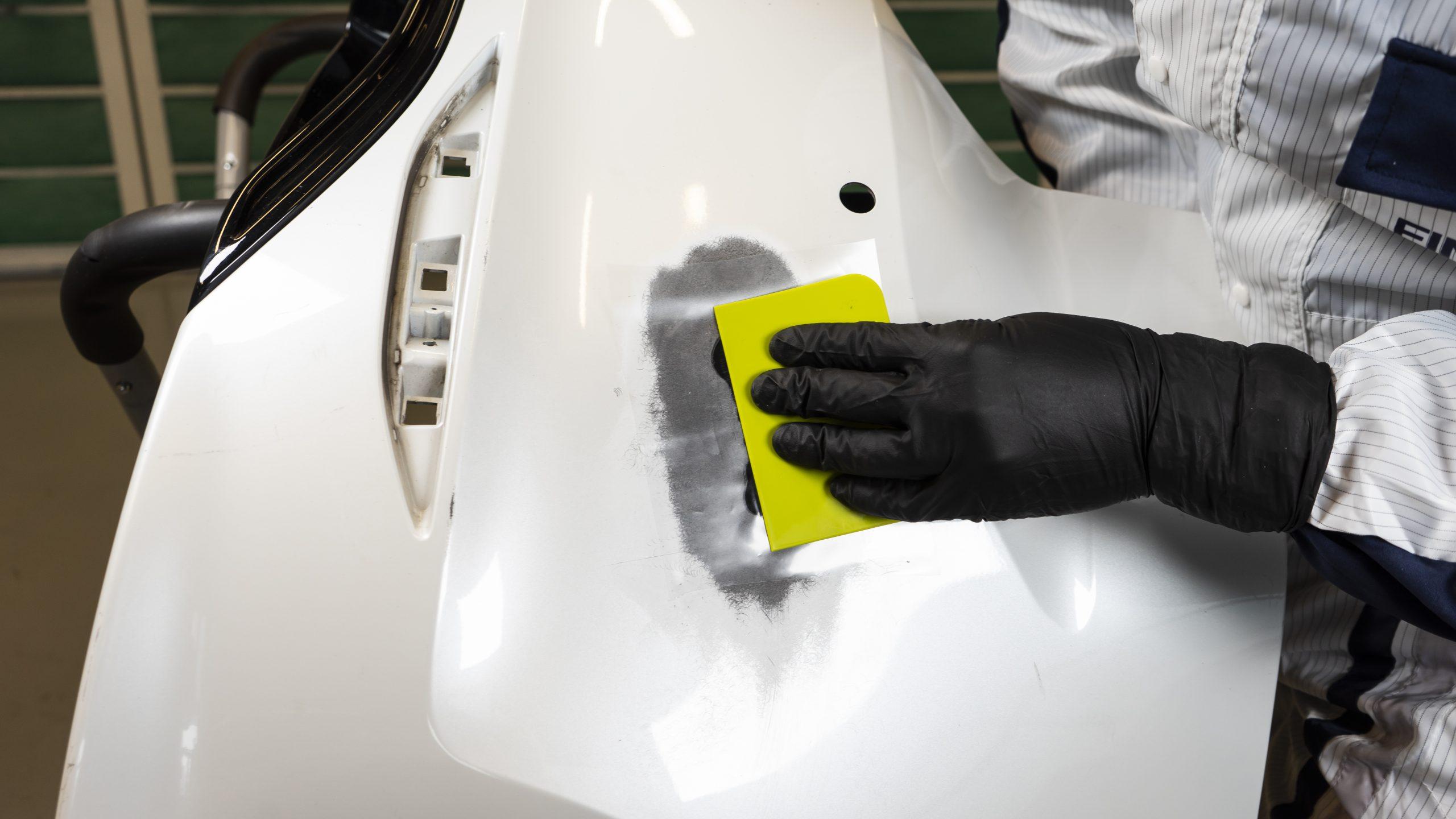 Contour Canvas for Plastic Repair