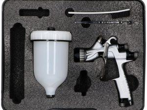 High transfer spray gun base/clear